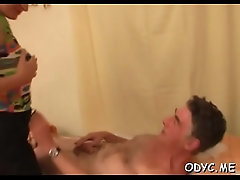 Young amateur babe sucks and...