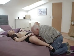 DADDY4K. Dad and young girl hot...