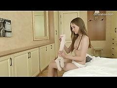 xhamster Little virgin shows her smallest...