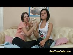Real teen dolls lesbian sex...