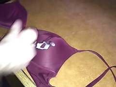 Cumshot on bra I found from the...