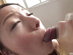 Cock loving Mei shows off her...