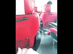xhamster Masturbation on a bus, behind a...