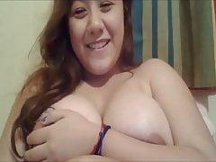 Angie boobs webcam