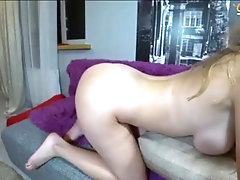 horny camgirl with multiple orgasms