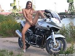 Melena A - Crazy Biker Girl