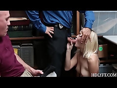 Madison Hart Fuck With Officer...