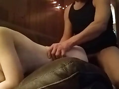 Letting daddy fuck while I smoke...