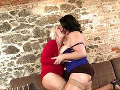Nasty mature busty mothers suck...
