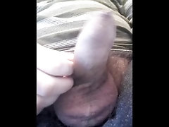 Teen boy playing with his tight...