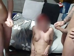 tight woman fucks in the throat...