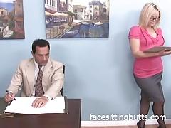 xhamster Big ass blonde dominating coworker