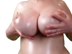 xhamster Oiled Boobs Tease