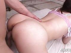 Sexy threesome along lusty...