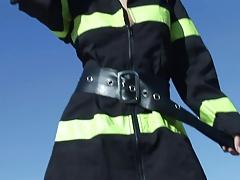 Firefighter slut lights...