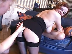 Two Cute Girls Students Invite...