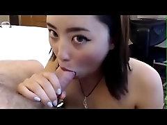 Teen Japanese Whore Sucking a...