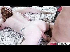 Katy Kiss pumps her moist pussy...
