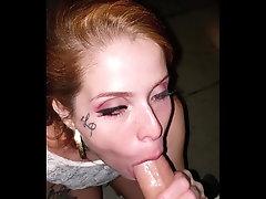 Suckin cock in the street ! Maru...