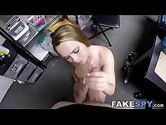 Bigass blonde banged and sucking...